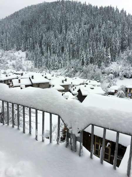 Широка лъка - сняг