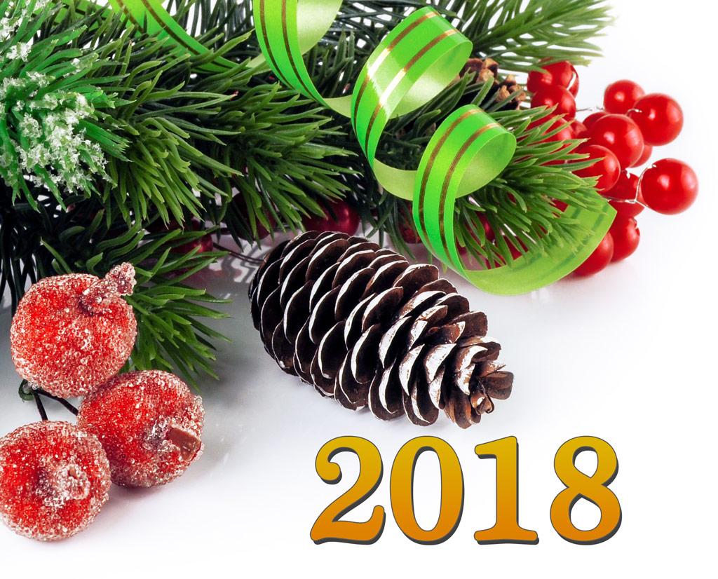 Широка лъка нова година 2018