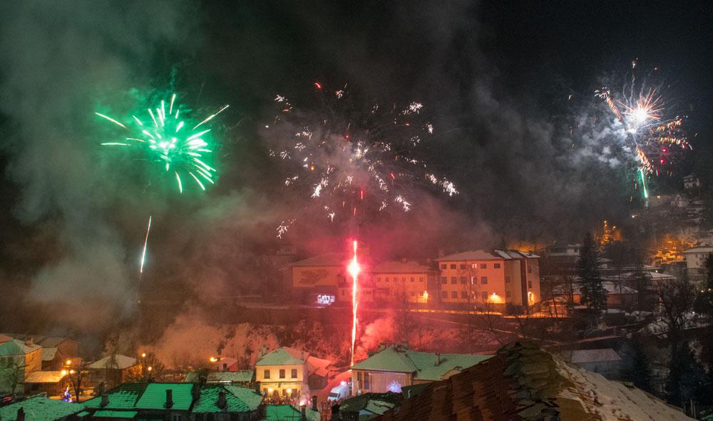 Посрещане на нова година в Широка лъка